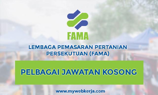 [TERKINI] Pelbagai Jawatan Kosong Lembaga Pemasaran Pertanian Persekutuan (FAMA)