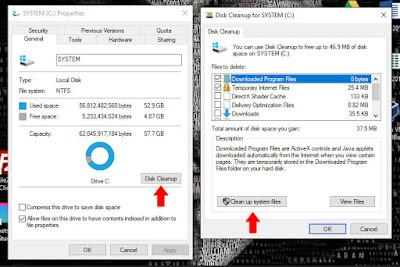 cara menghapus windows old pada windows 10 terbaru