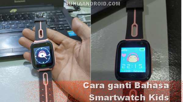 Mengganti settingan bahasa di Imoo smartwatch anak