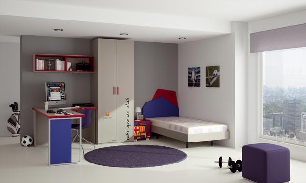 Dormitorios futbol club barcelona fcb by dormitorios - Dormitorios juveniles en barcelona ...