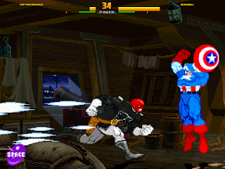 Mugen Captain America vs Red Skull