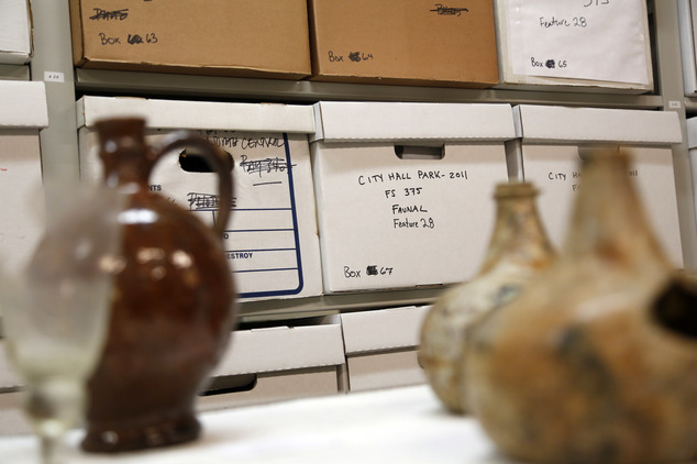 NYC launches archaeological repository and digital archive