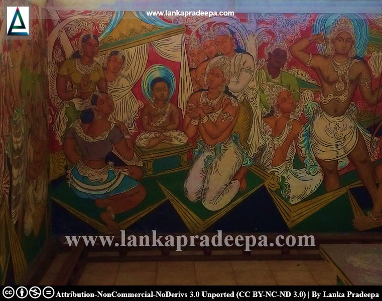 George Keyt's paintings at Gothami Viharaya