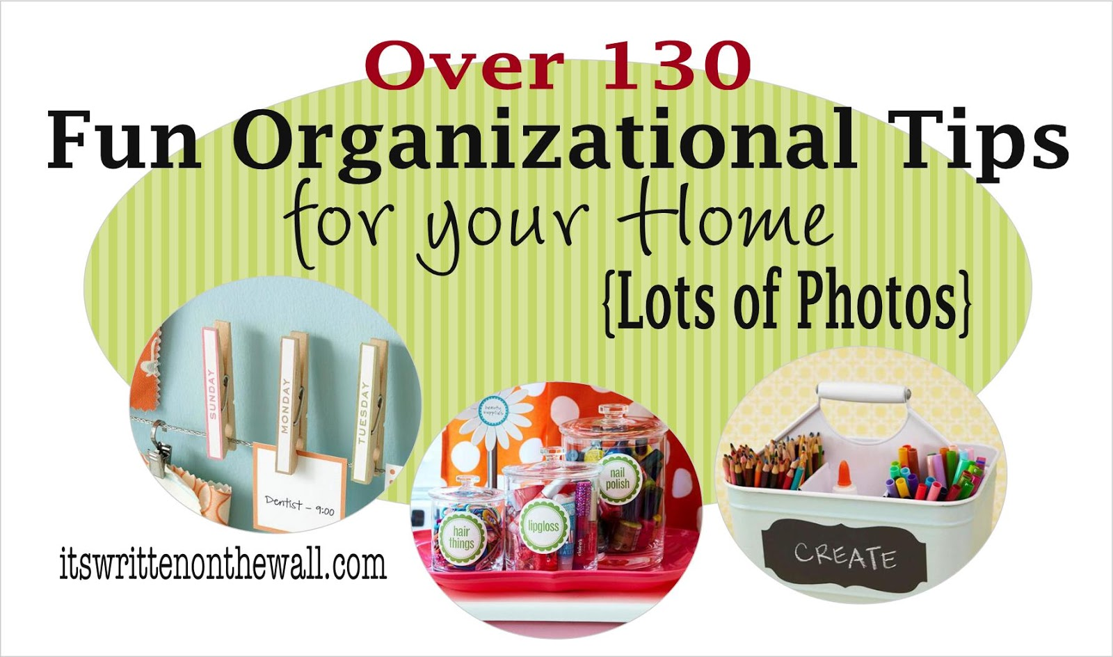 It's Written on the Wall: Create Organizing Kits + Tips for ...