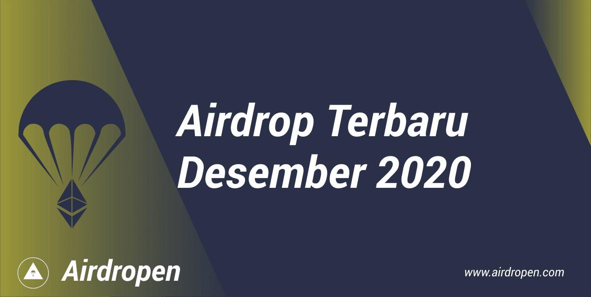 Airdrop Terbaru Desember 2020