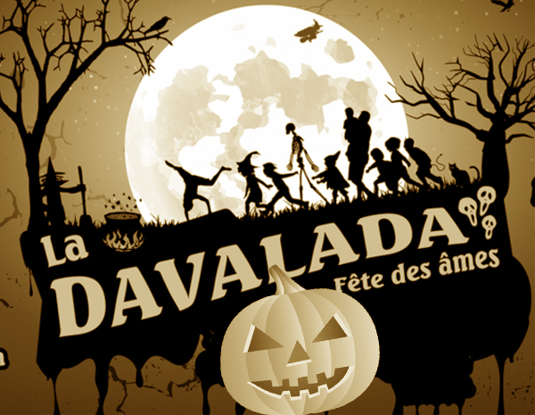 Davalada, Halloween languedocien