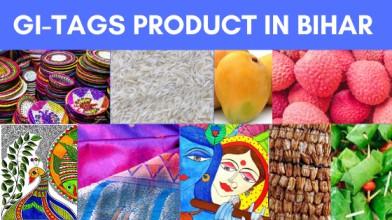 GI Tags products in Bihar