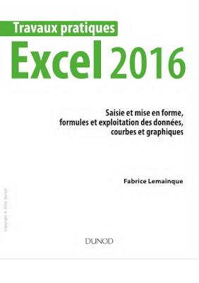 Excel 2016 : saisie et mise en forme, formules et exploitation des données, courbes et graphiques by Lemainque, Fabrice