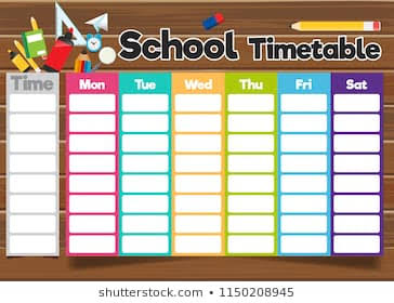 Automatic School Time Table
