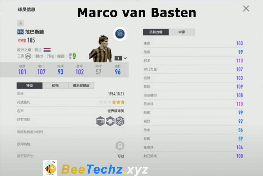 FIFA ONLINE 4   Ngắm nhìn chi tiết chỉ số cầu thủ mùa thẻ mới Europe Best Stars - EBS FIFA Trung Quốc Phần 1