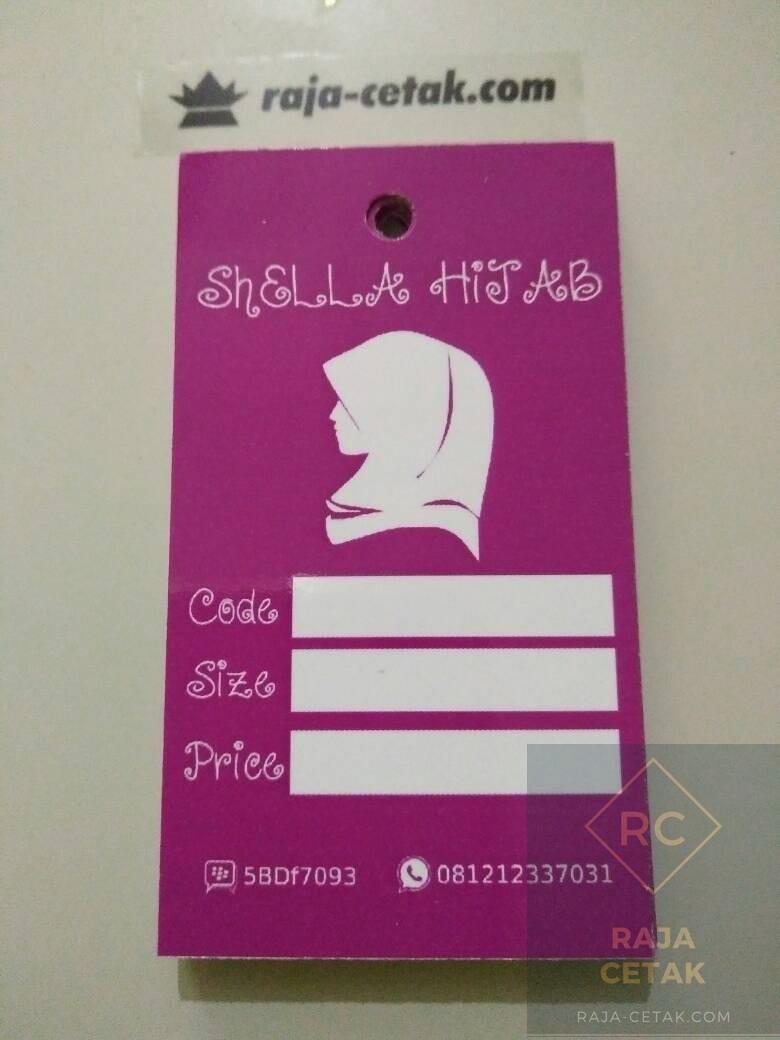 Buat Hang Tag Price Atau Label Baju Kertas Ivori 260 Murah Kaos Kaki  Bagus Untuk