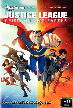 Liga De La Justicia: Crisis En Dos Tierras [1080p] [Latino-Ingles] [MEGA]