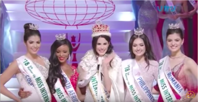 Miss International 2018 Top 5