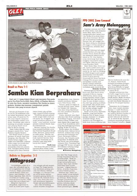 BRASIL VS PERU 1-1 SAMBA KIAN BERPRAHARA