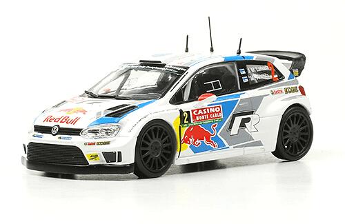 collezione rally monte carlo Volkswagen Polo R WRC 2014  J.M. Latvala - M. Antilla