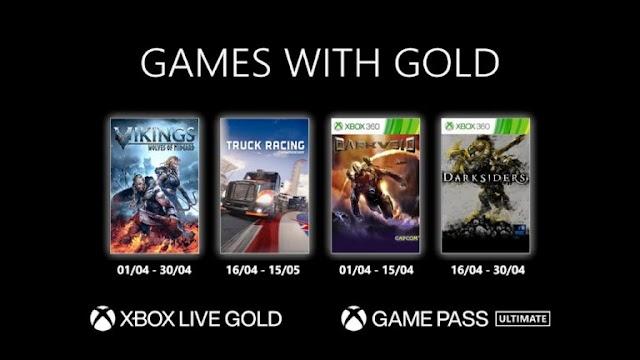 Veja os novos jogos do Xbox Live Gold pra Abril de 2021