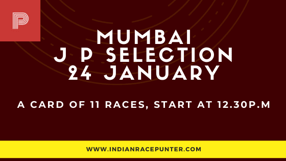 Mumbai Jackpot Selections 24 January