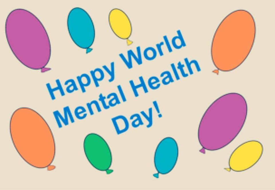 World Mental Health Day Wishes Lovely Pics