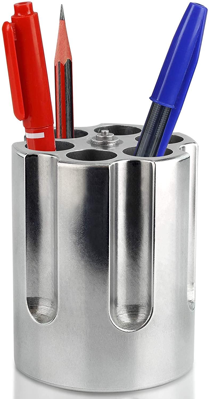 Aluminum Gun Cylinder Pen Holder