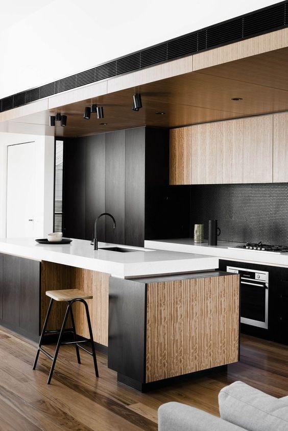 best dark kitchen design for your inspiration