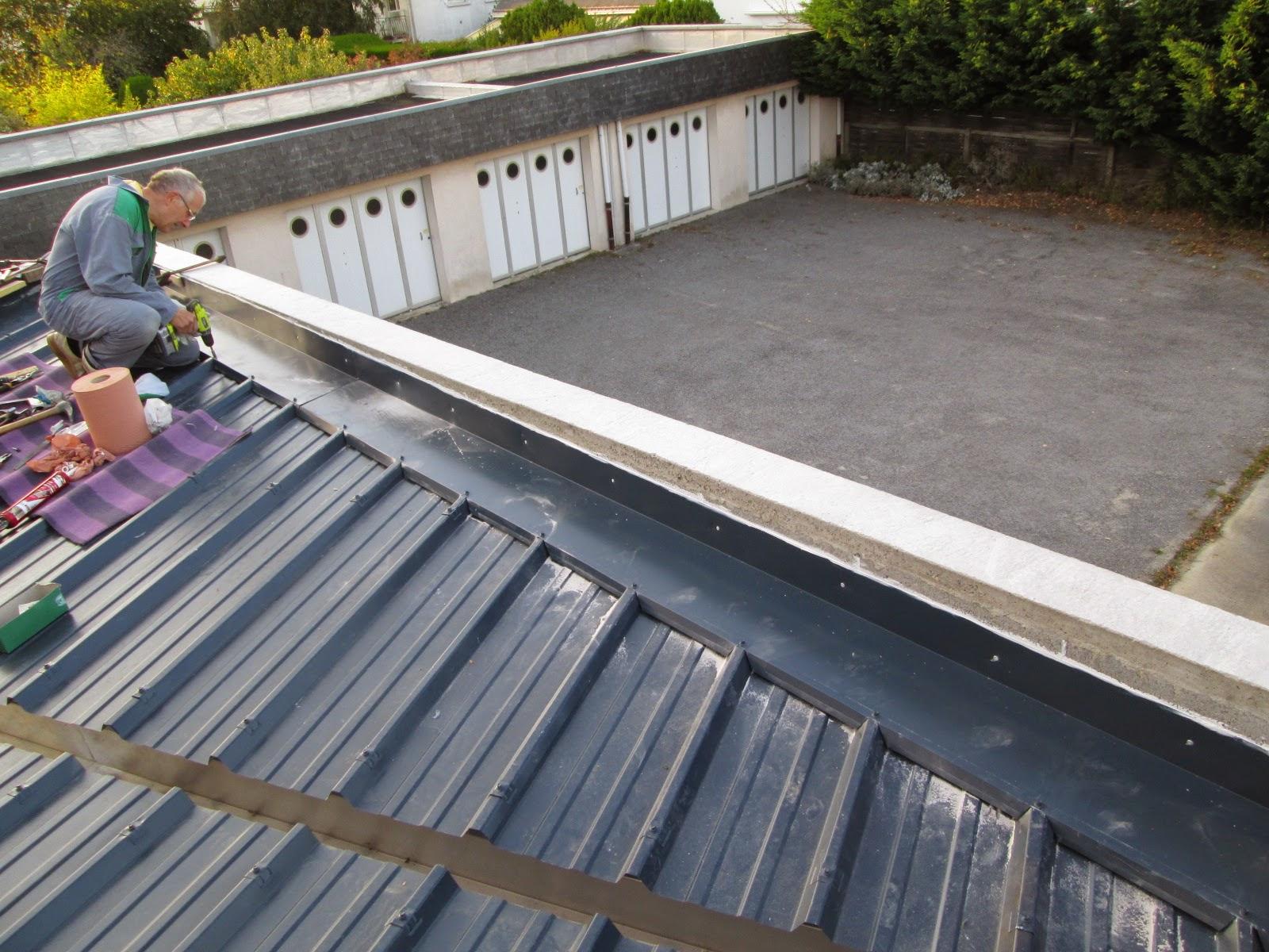 l 39 tanch it de la toiture de l 39 extension antoine. Black Bedroom Furniture Sets. Home Design Ideas