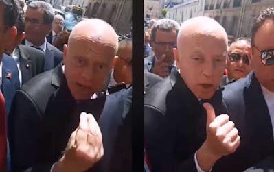 الرئيس قيس سعيد في باريس