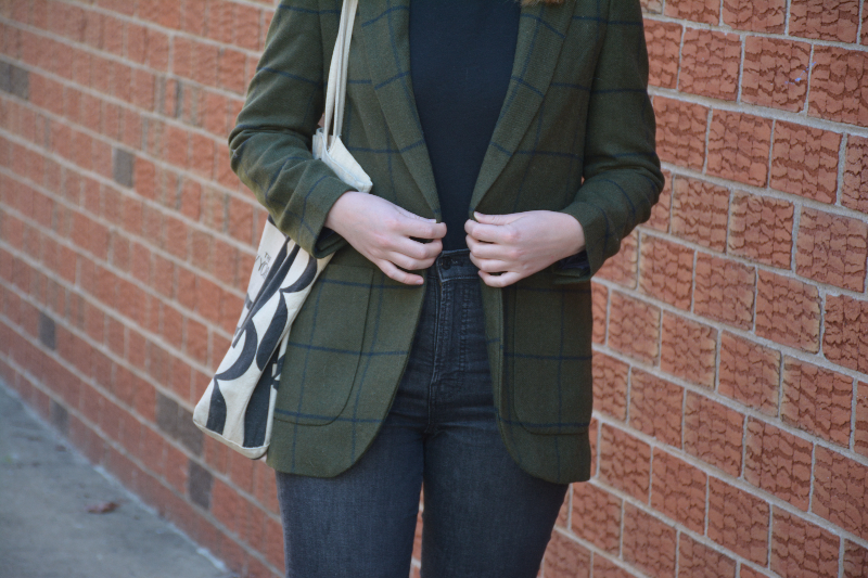 Styling a Blazer for the Weekend | Organized Mess