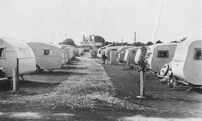 Primrose Valley caravan site 1950s