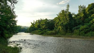 The Nam Tha river