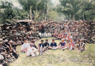 kebaktian lapangan oleh zending rmg