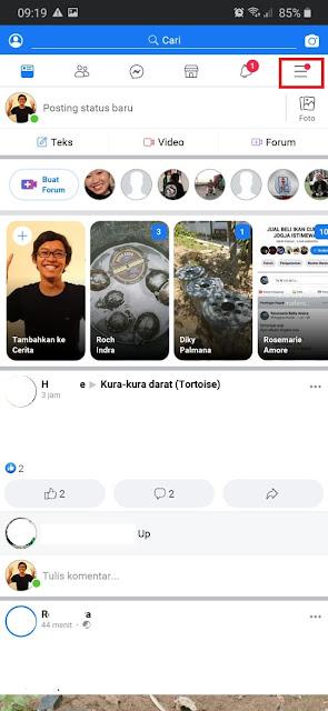 Cara Mengaktifkan Dark Mode di Facebook Android- 1