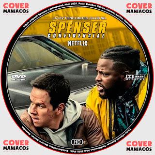 Spenser Confidencial Spense Confidential 2020 Cover Dvd Covermaniacos Locos Por Los Cover