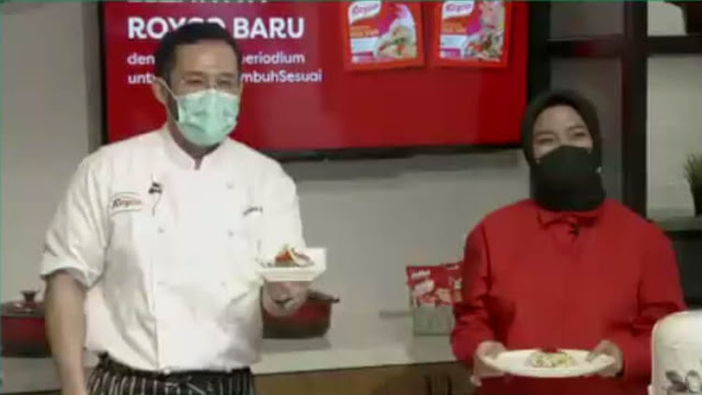 virtual cooking demo royco