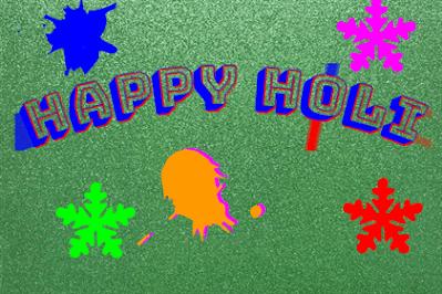 happy holi images photo