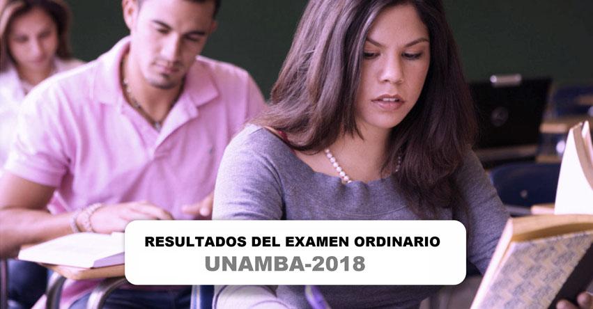 UNAMBA publicó resultados Examen de Admisión 2018-1 (Domingo 8 Abril) Universidad Nacional Micaela Bastidas de Apurímac - www.unamba.edu.pe