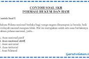 Contoh Soal SKB Formasi Hukum dan HAM CPNS 2019-2020
