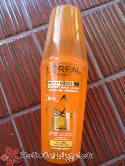 L Oreal Smooth Intense Anti Frizz Serum Review
