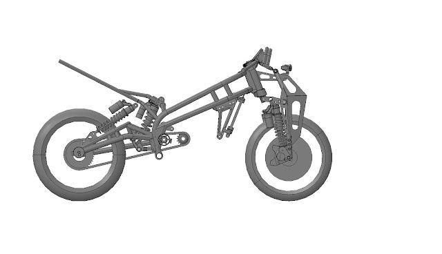 Julian Farnam A-N-D Yamaha RZ350 Chassis