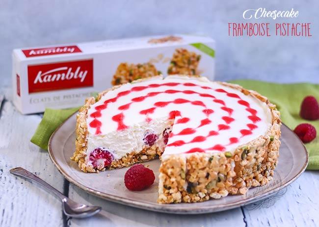 cheesecake avec coeurs
