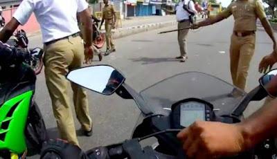 Pembonceng Tewas Akibat Kunci Motor Dicabut Polisi
