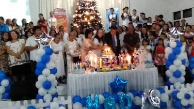 Lima Denominasi Gereja Ikut Rayakan HUT GPDI Rajawali Tewasen ke-76 Tahun