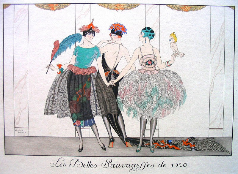 10 ilustradores más reconocidos, George Barbier