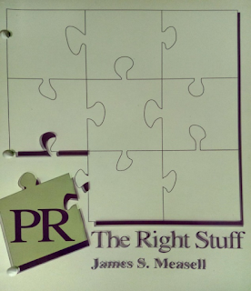 Cover of PR The Right Stuff, a book by James S. Measell