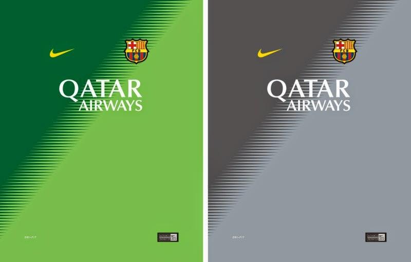 Diseños, Vectores Y Más: Barcelona 2014 2015 Arquero Camiseta
