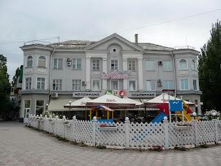 Мелитополь. Проспект Богдана Хмельницкому