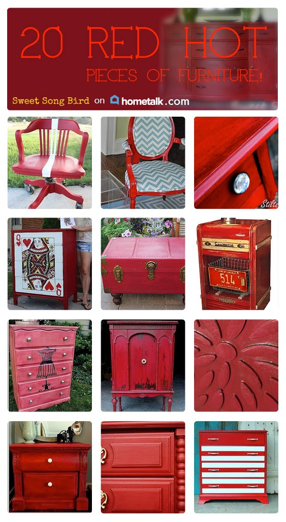 http://www.hometalk.com/b/2163863/red-furniture-inspiration