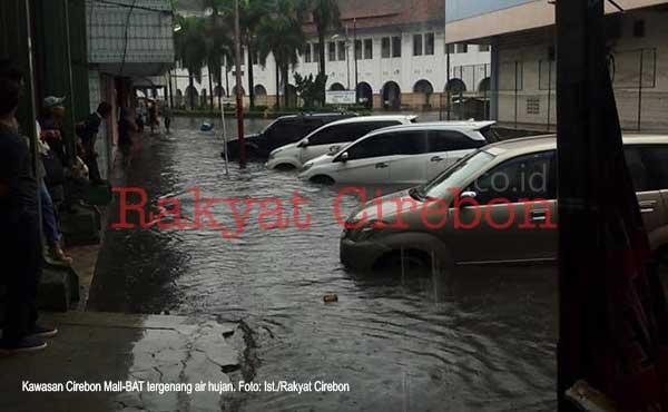 kawasan cirebon mall banjir