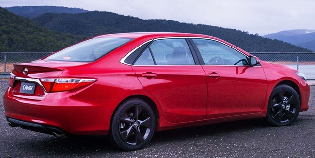 2017 Toyota Camry Redesign Release Date