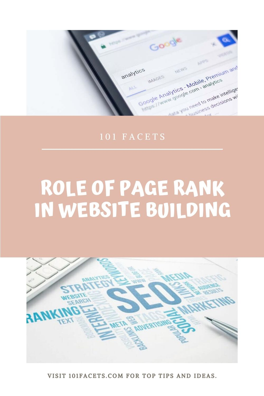 Role Of Page Rank In Website Building