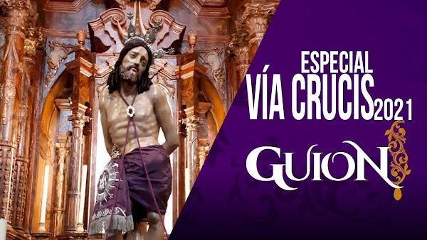 Asi fué el Vía Crucis Agrupación de Cofradías Semana Santa Málaga 2021
